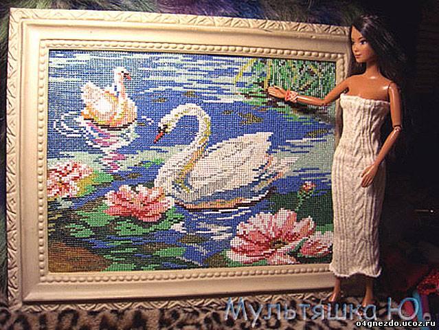Схемы плетения картин из бисера на станке.